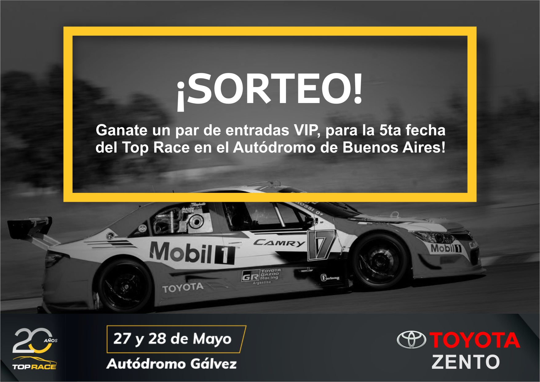 SORTEO EXCLUSIVO TRV6!